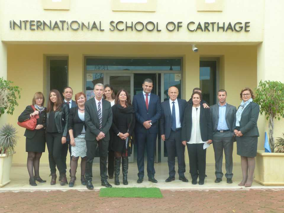Visite de son excellence Monsieur l'Ambassadeur de France